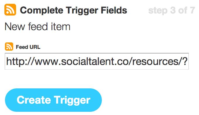 Complete Trigger Fields | IFTTT