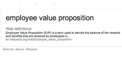 how to develop an employee value proposition