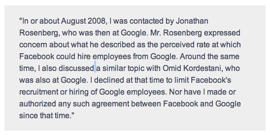 Sheryl Sandberg Statement