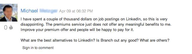 LinkedIn ad