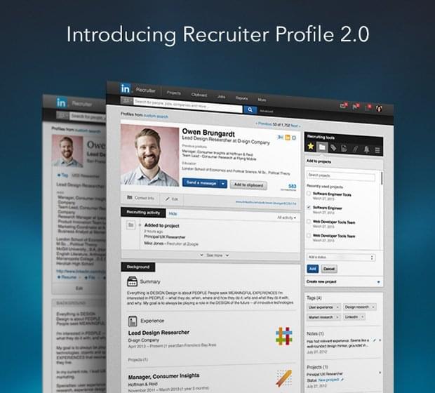 LinkedIn Recruiter 2.0 | Recruitment News