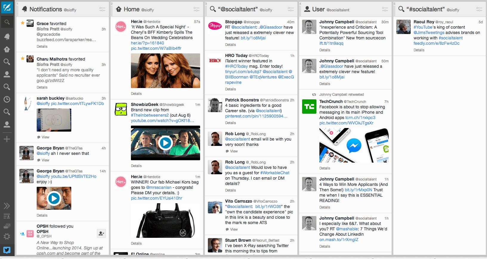 twitter products