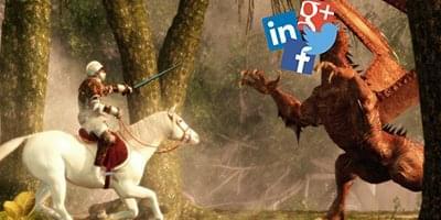 corporate social presence