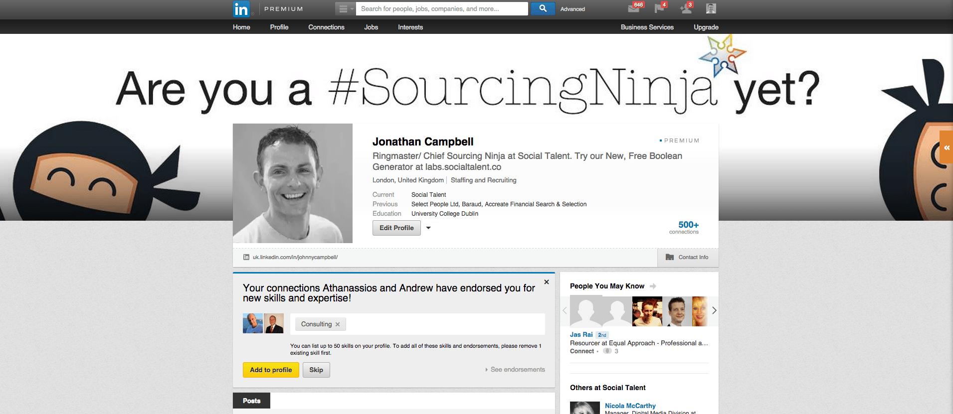 Social Talent LinkedIn Header