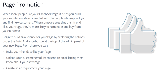 Page Promotion Guidelines from Facebook