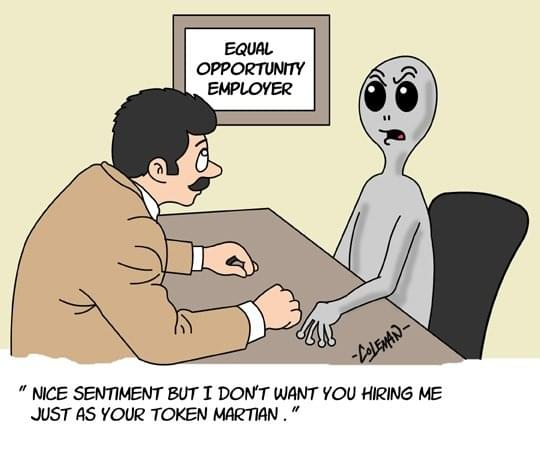 Equal martian