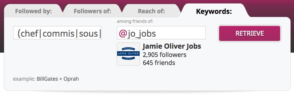 search followers