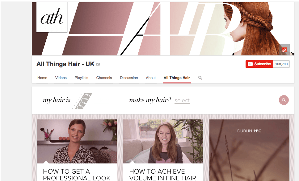 All Things Hair UK - YouTube Channel