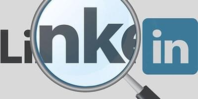 searching linkedin