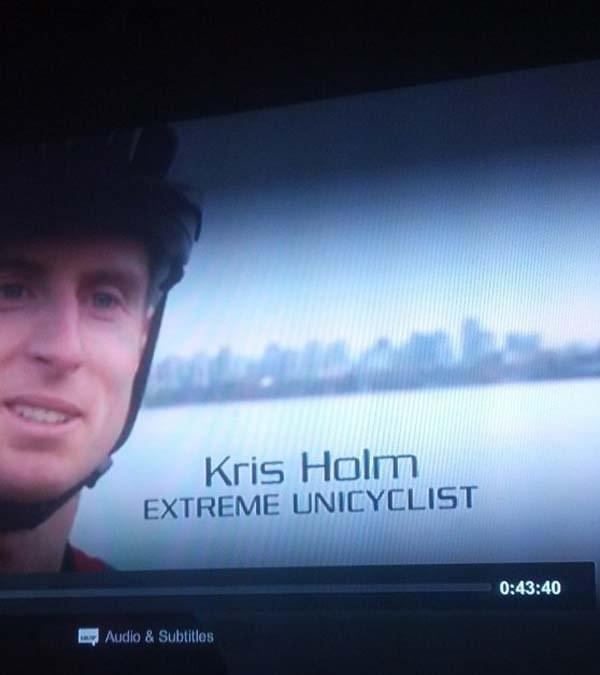 Extreme Unicyclist