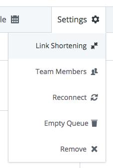 Link Shortening option - Buffer