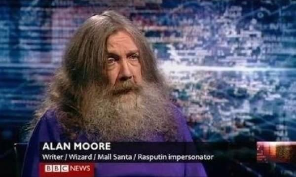 Writer:Wizard:Mall Santa:Rasputin Impersonator