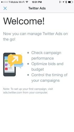 Mobile Twitter Ads