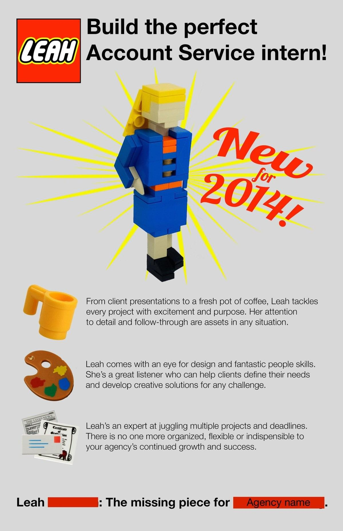 lego resume - Creative Resumes