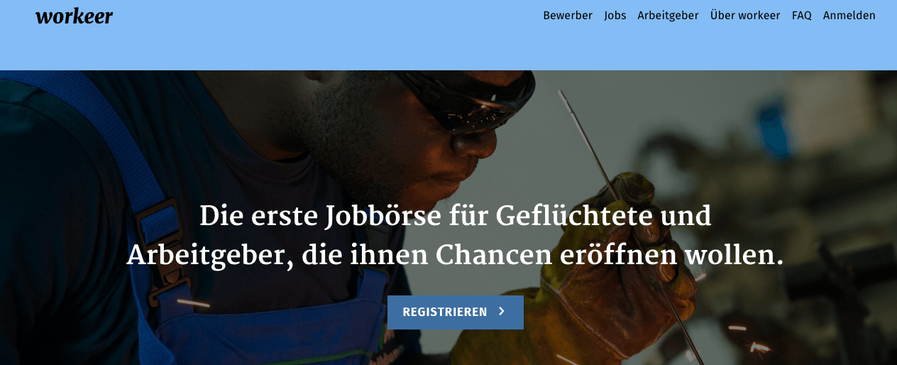 Workeer - refugee job site
