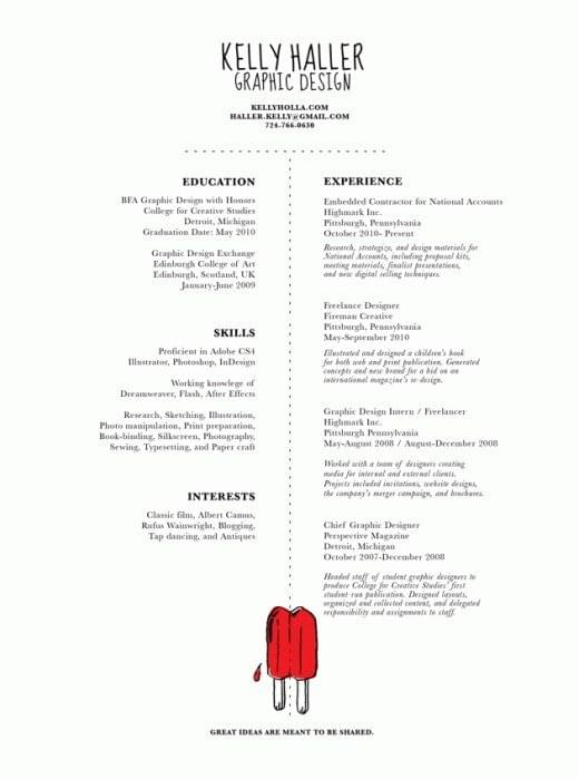 12 beautifully simple resume designs you ll want to steal