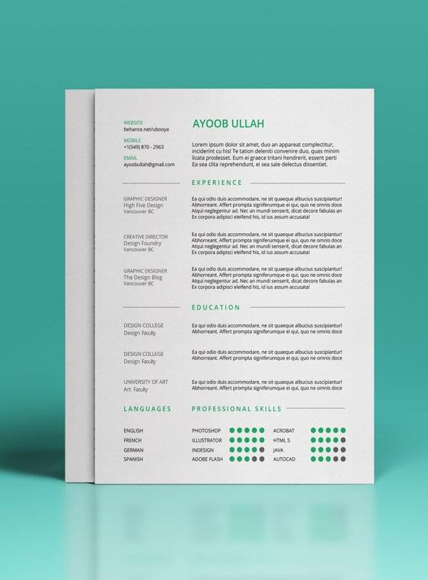 12 beautifully simple resume designs you ll want to 12 beautifully simple resume designs you ll want to