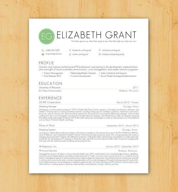 12 Beautifully Simple Resume Designs You'Ll Want To Steal