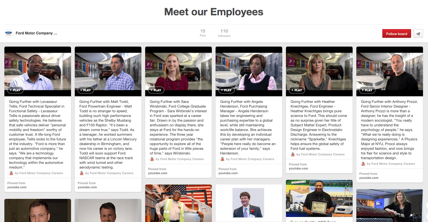 How to: Promote Your Employer Brand on Pinterest