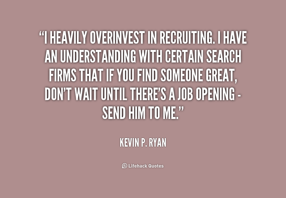inspirational quotes for recruiters