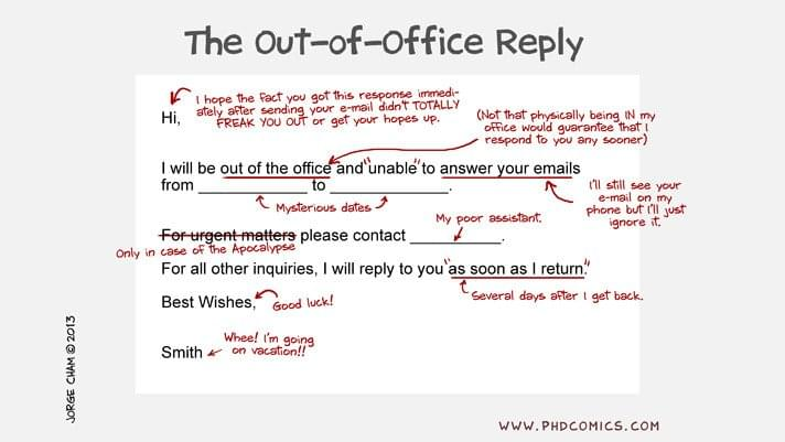 7 Refreshingly Unique Out Of Office Emails Recruiters Can