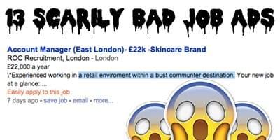 bad job ads