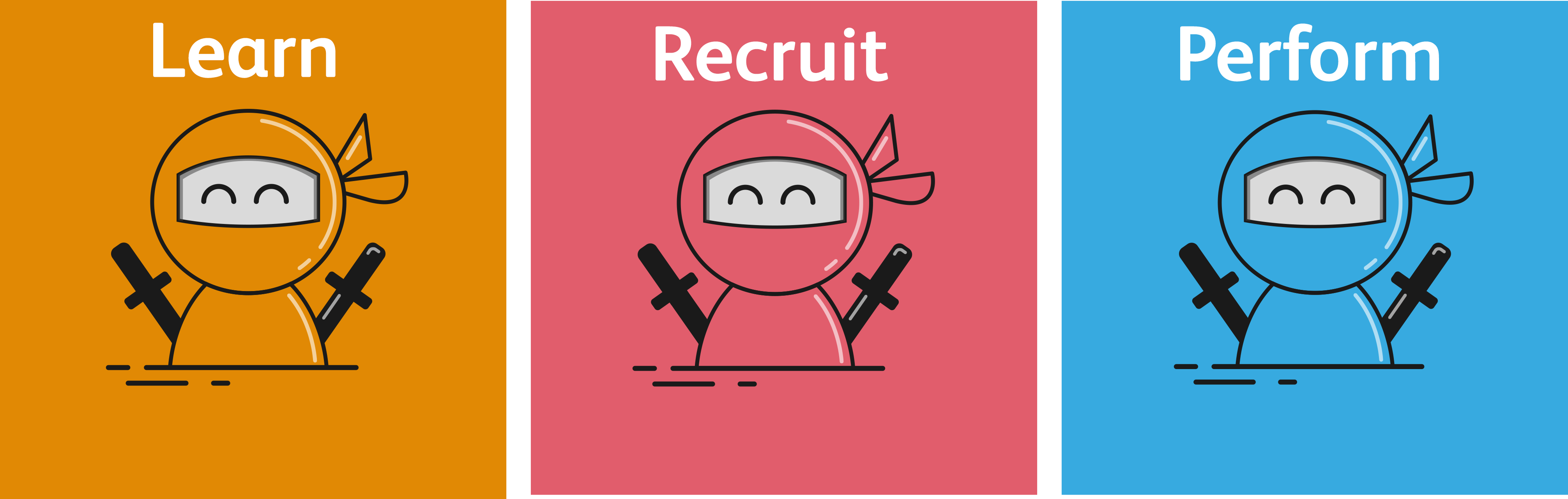 Learn | Recruit | Perform