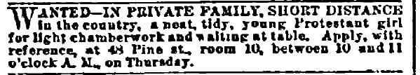 Not Long to Apply - Vintage Job Ads