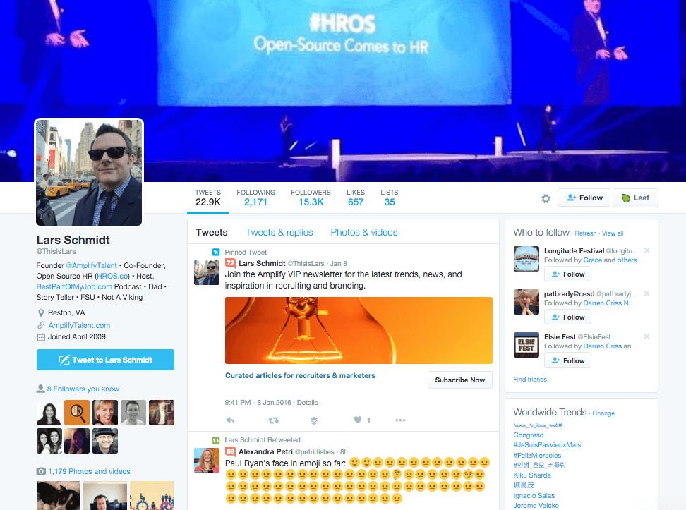 Lars Schmidt Twitter