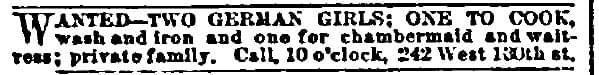 Specific - Vintage Job Ads