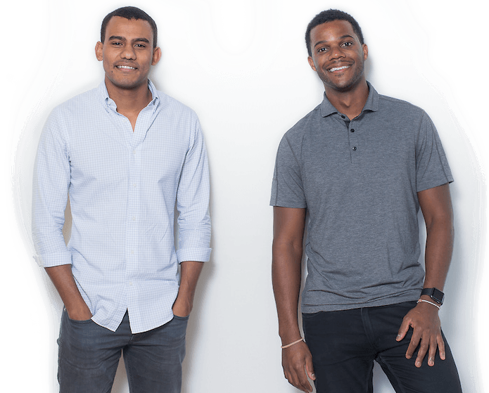 Jopwell founders Ryan Williams and Porter Braswell.