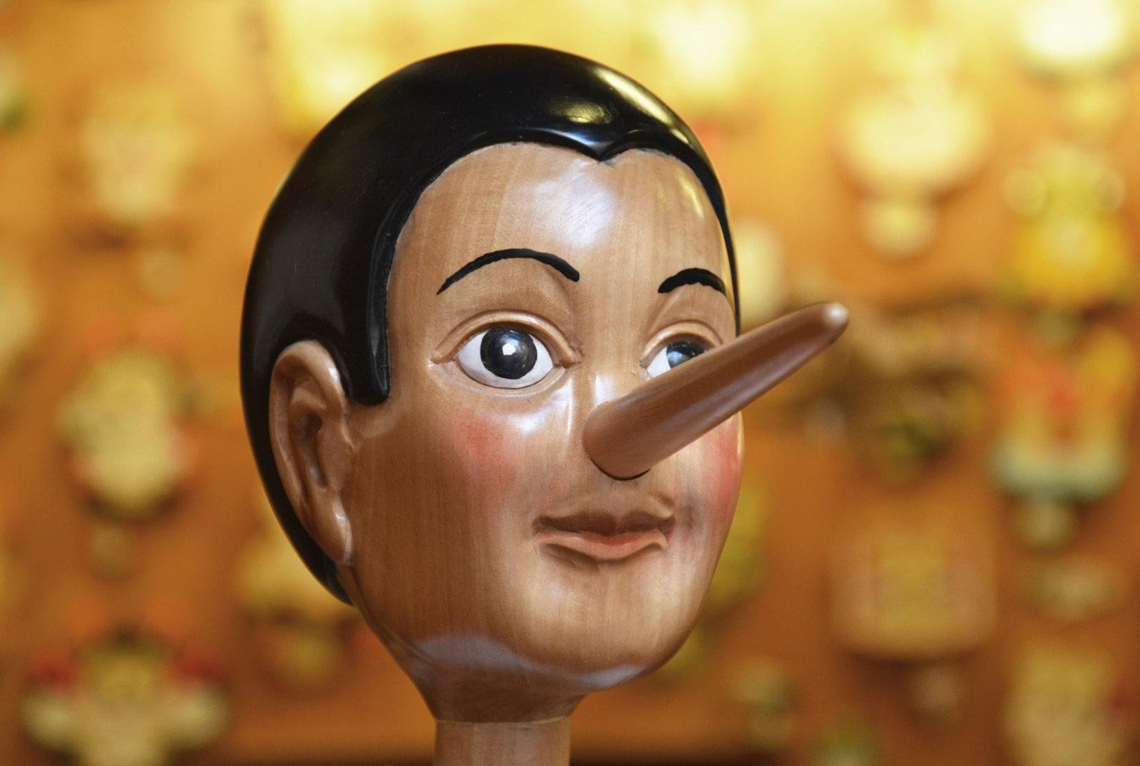 lying candidate