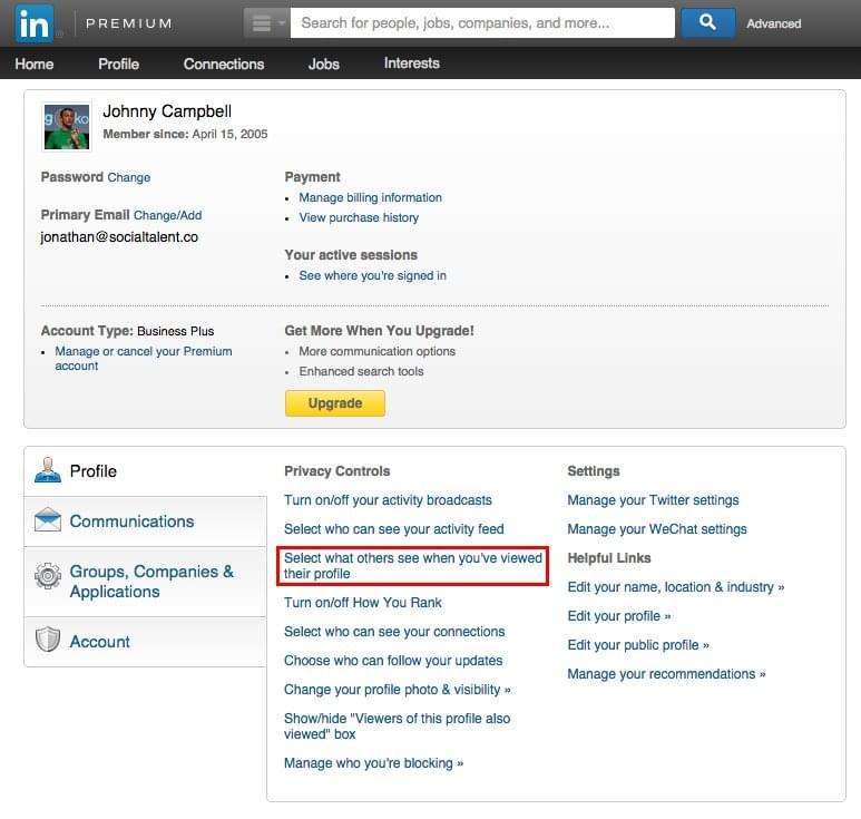 Profile-Views-LinkedIn
