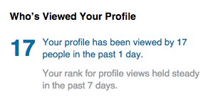 Who's Viewed Your Profile