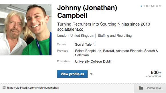 Contact Info LinkedIn