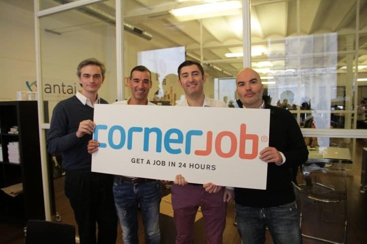 CornerJob Founders