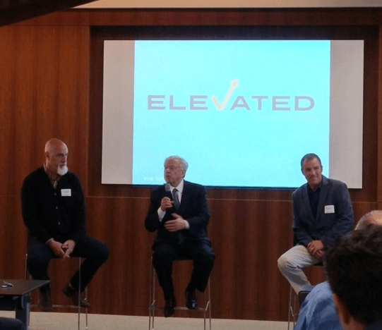 Elevated Careers Launch. Pic courtesy of ‏@glarocque.