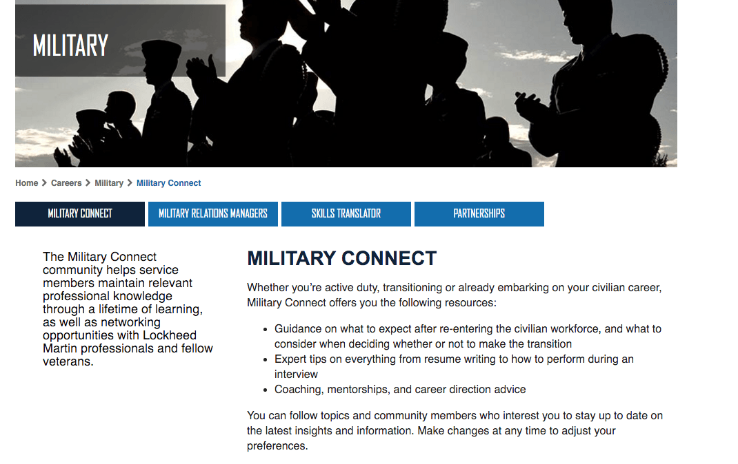 military-connect