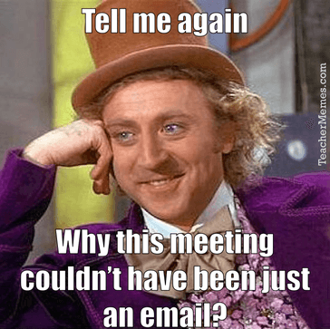 ... Who's Ever Attended a Staff Meeting Will Recognise - Social Talent
