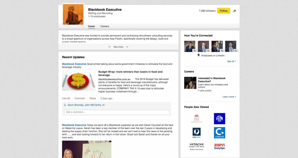Blackbook Executive Linkedin