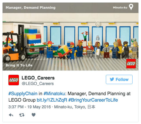 Top 10 job ads that make you want to apply social talent for Lego entwickler job