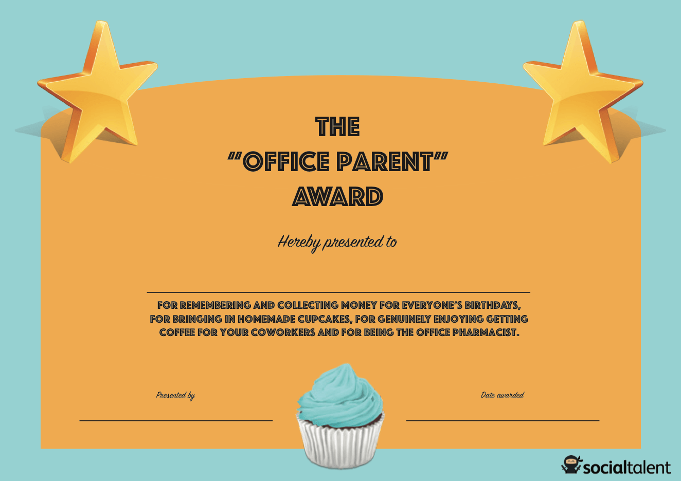 20 Hilarious Office Awards to Embarrass Your Colleagues | SocialTalent