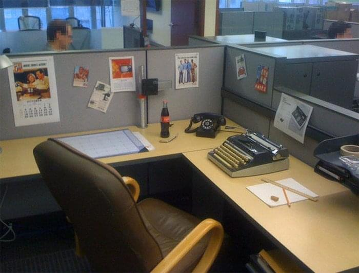 office-prank-analog