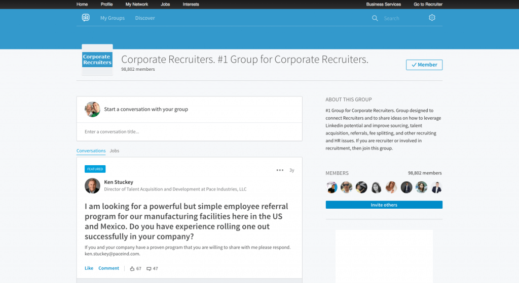 Corporate Recruiters