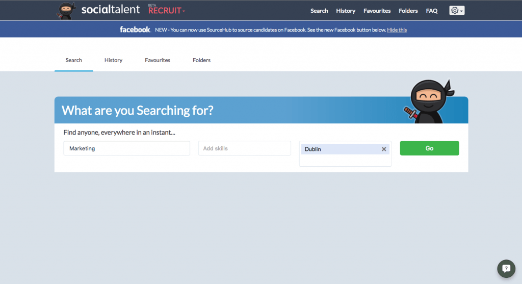 Sourcehub Search