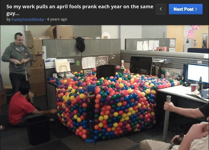 office-prank-balls