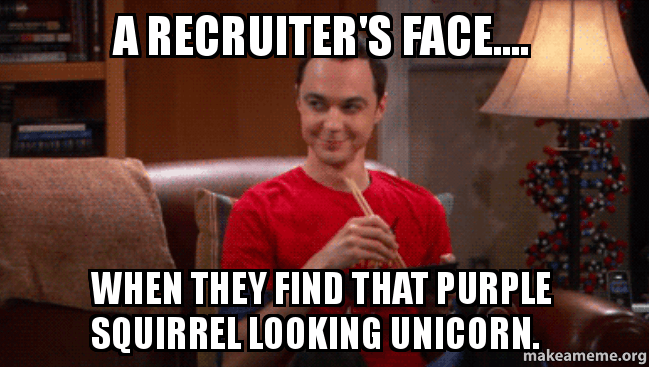 Image result for recruiter memes