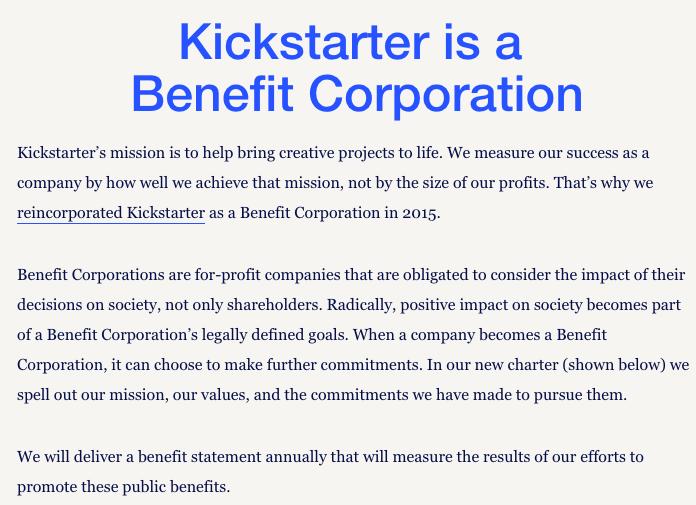 Kickstarter Careers Page