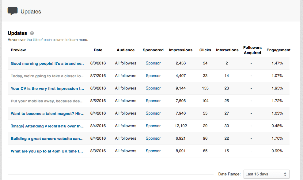 linkedin-company-status-updates-insights