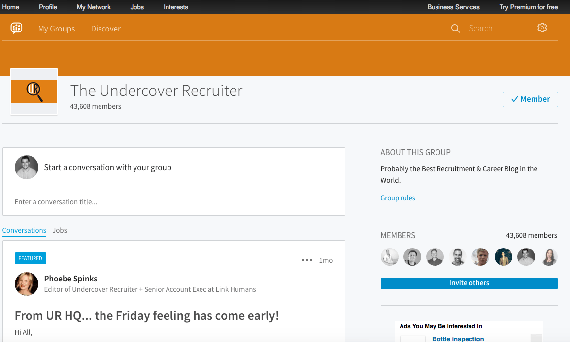 undercover-recruiter-linkedin-group